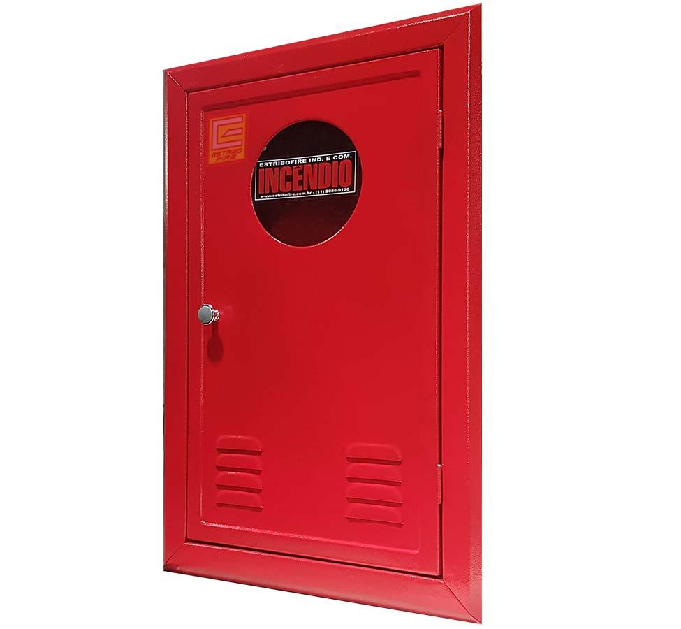 Abrigo para Mangueira embutir vermelho - Estribofire