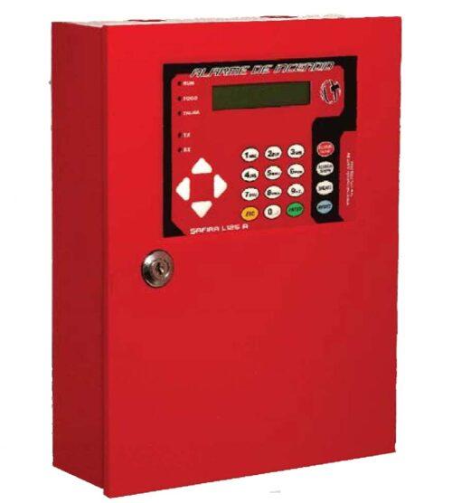 Central de Alarme de Incêndio Safira L125A