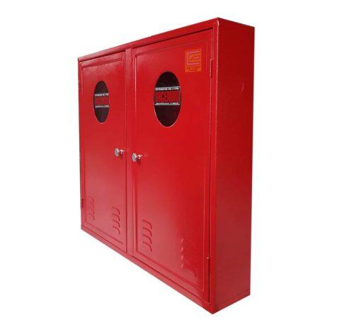 Abrigo para Mangueira Hidrante Duplo 90x120x30 cm - Estribofire